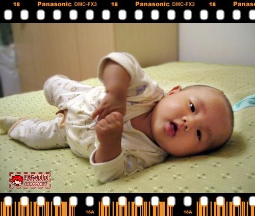 查看金东浩宝宝会翻身了照片