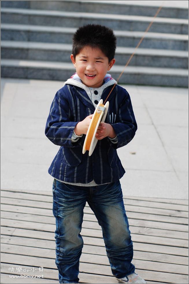 查看金东浩游新海公园之放风筝照片